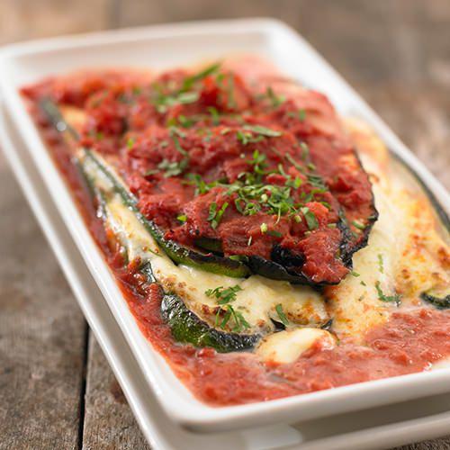 Bedwelming Courgette met mozzarella uit de oven - recept - okoko recepten &HR36