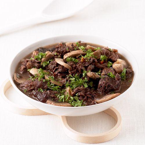 hazenpeper met paddenstoelen, peperkoek en stroop - recept - okoko