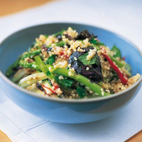 jamie oliver: couscous met gegrilde zomergroenten - recept - okoko