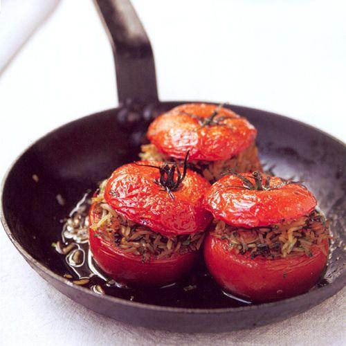 gevulde tomaten op z'n grieks - recept - okoko recepten