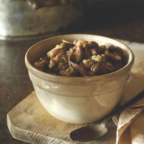 tuinbonen met gerookt varkensvlees - recept - okoko recepten