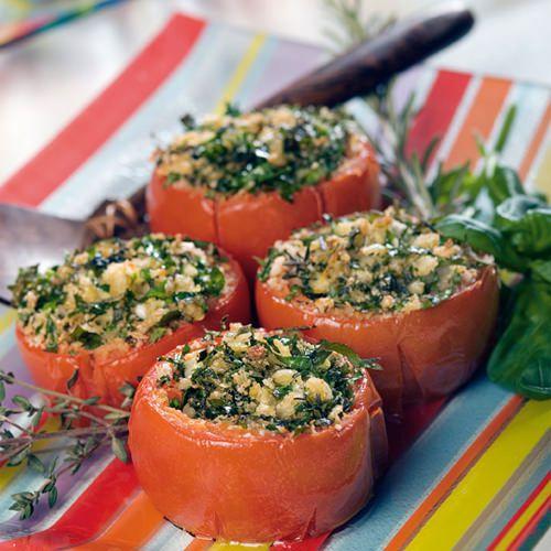 provençaalse gevulde tomaten - recept - okoko recepten