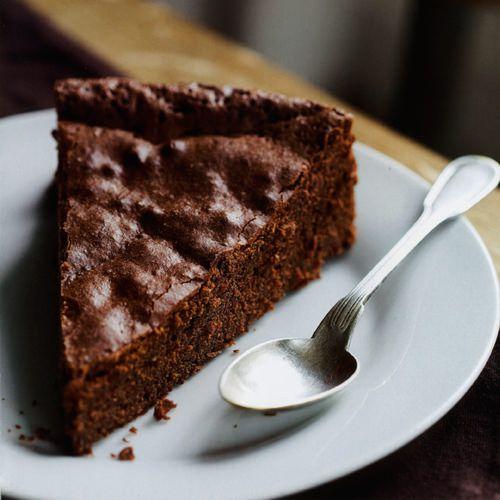 Eenvoudige chocoladetaart - recept - okoko recepten