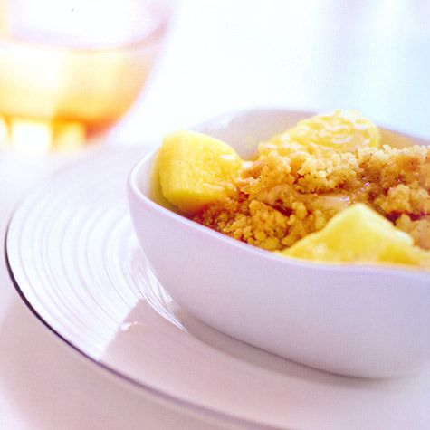 Fabulous Crumble met ananas en vanille - recept - okoko recepten #NX74