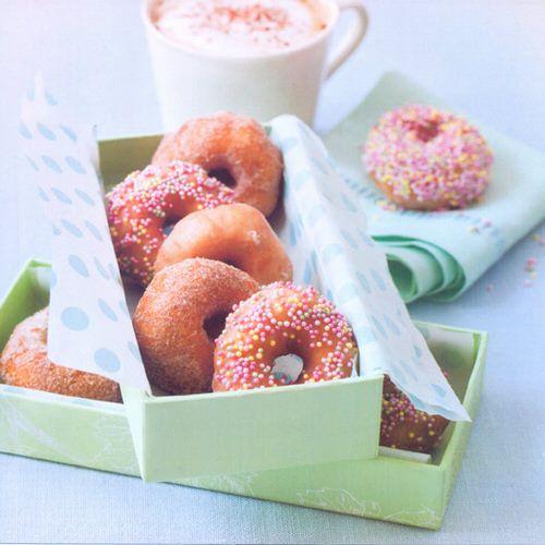 mini donuts recept