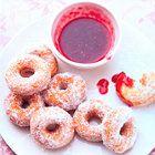 Donuts Mini donuts met jam