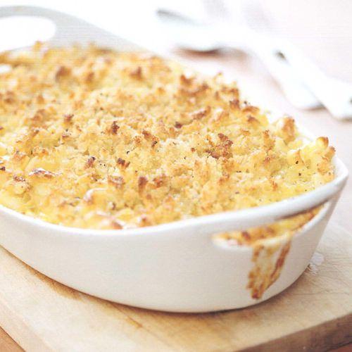 macaroni met kaas en broodkruim - recept - okoko recepten