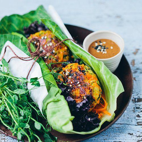 Green Kitchen Travels: Vegetarische Burgers Met Halloumi