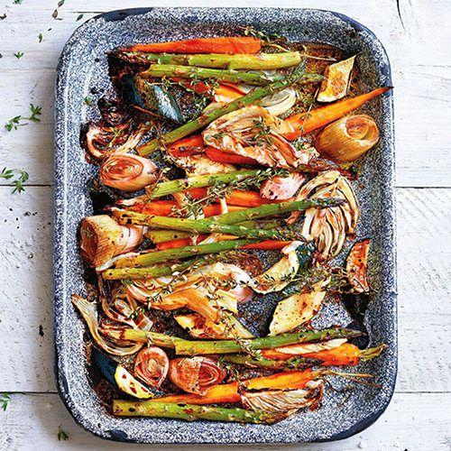 groenten uit de oven met wittetruffelzout - recept - okoko recepten