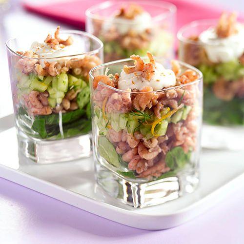 garnalencocktail met komkommer - recept - okoko recepten